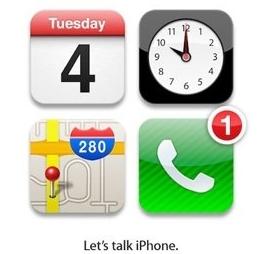 iPhone4s発表イベントの招待状