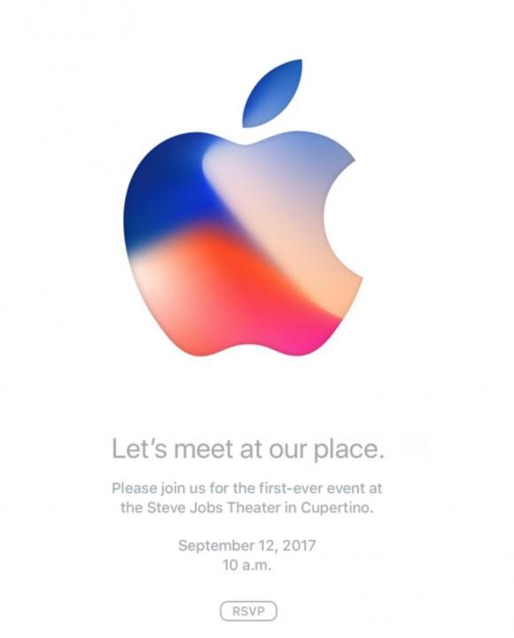 Apple イベント 招待状