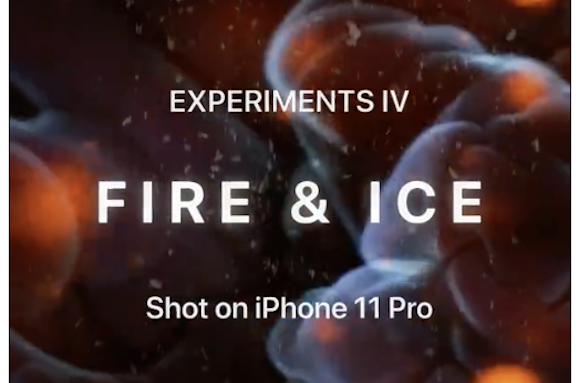 Apple「Experiments IV: Fire & Ice」