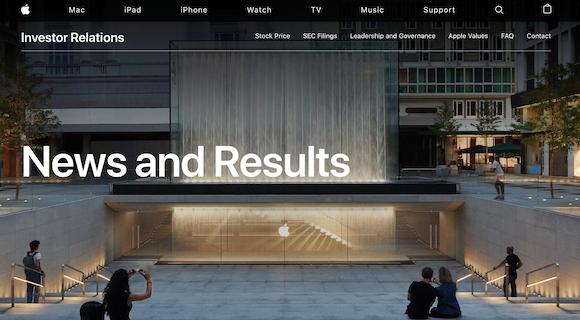 Apple Investor Updates