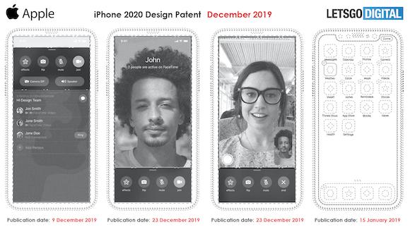Apple iPhone 特許庁 意匠登録 LetsGoDigital