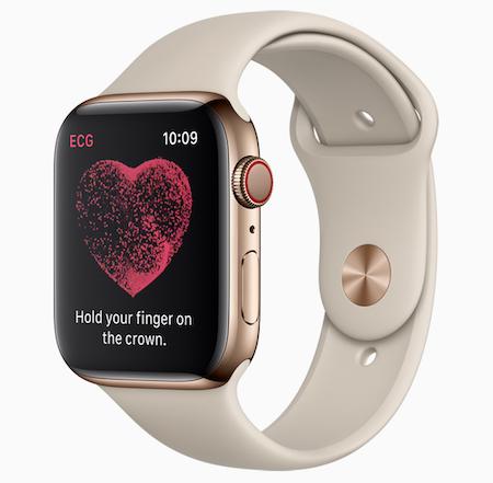 Apple Watch Series 4 Apple 心電図