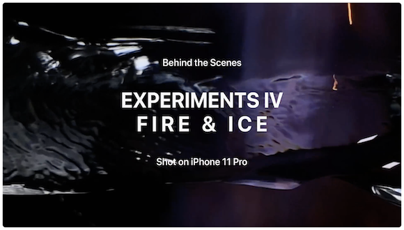 「Behind the Scenes — Experiments IV: Fire & Ice」