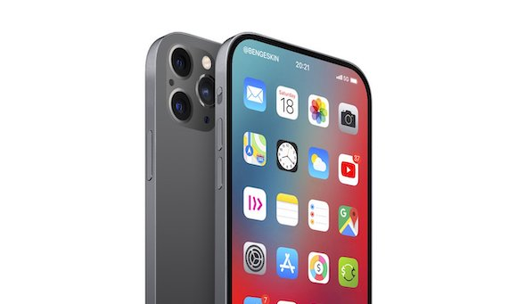 2021 iPhone コンセプト @BenGeskin/Twitter