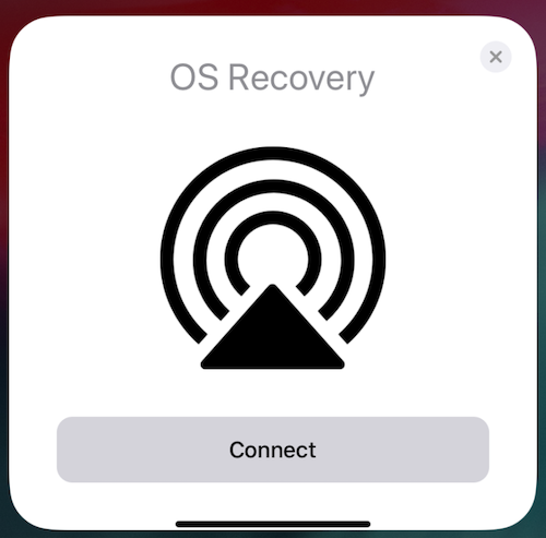 Apple「OS Recovery」 iOS13.4 ベータ3 9to5Mac