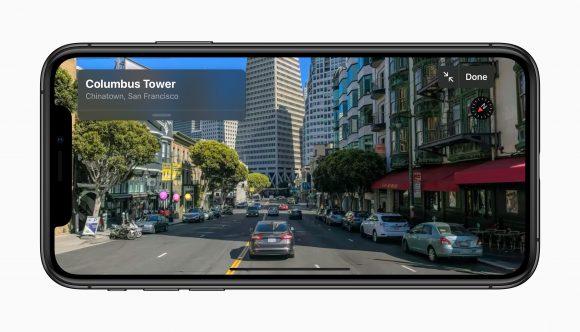 Apple iOS13 マップ LookAround