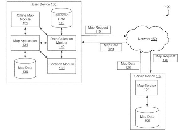 Map patent