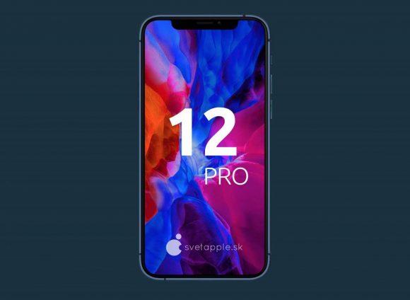 iPhone12pro concept svetapple display