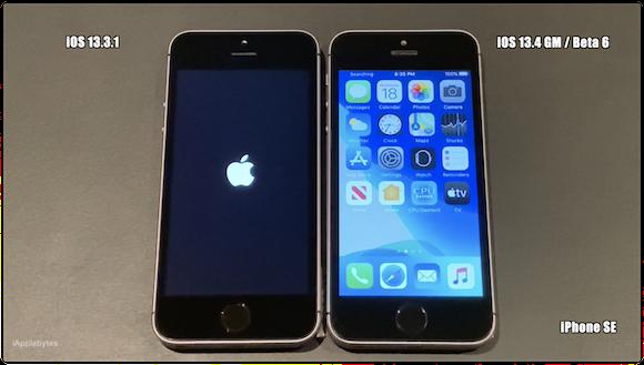 iOS13.4 GM スピードテスト iAppleByte