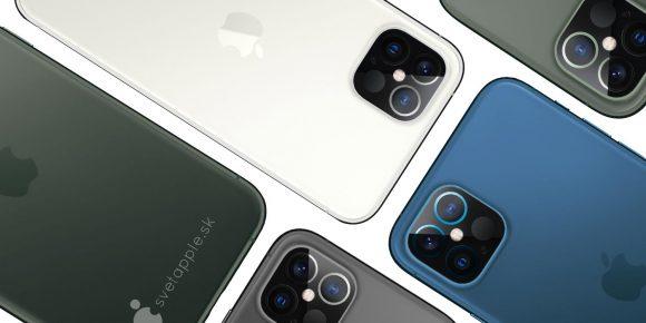 iPhone12pro concept svetapple colors