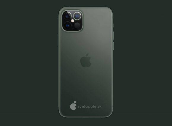 iPhone12pro concept svetapple midnight green