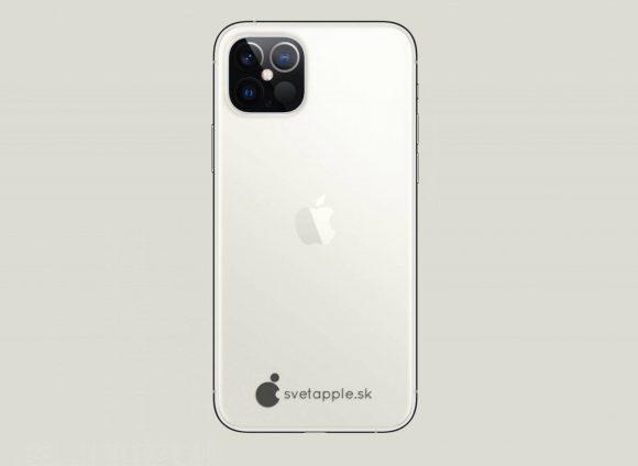 iPhone12pro concept svetapple silver