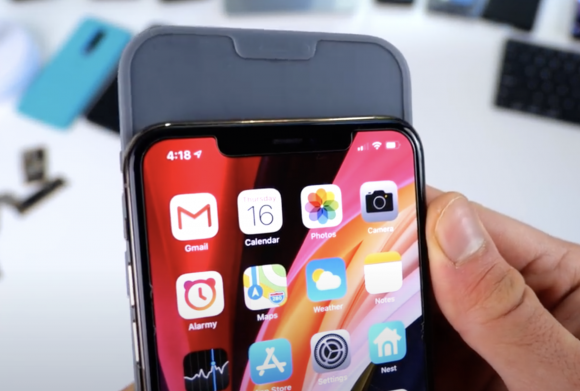 iPhone12 vs 11 notch