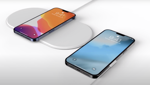 Portless iPhone airpower and connector