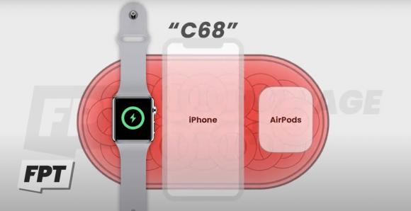 AirPower C68 charging