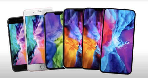 2021 iPhone full lineup