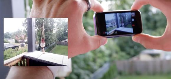 iPhone XS mini fake camera