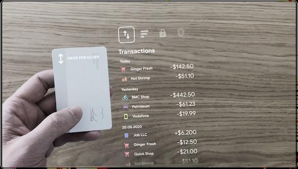 AR Apple Card