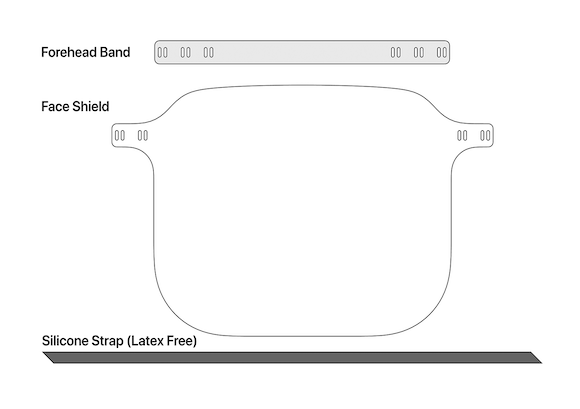 Apple Face Shield サポート