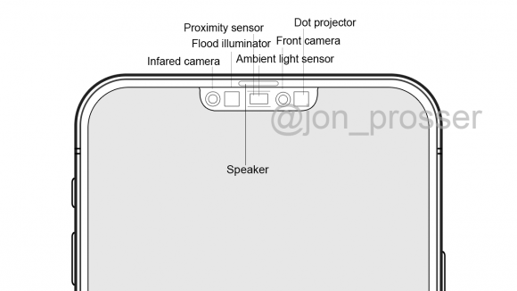 iPhone12 front camera housing