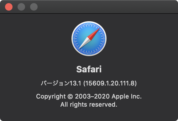 Safari 13.1