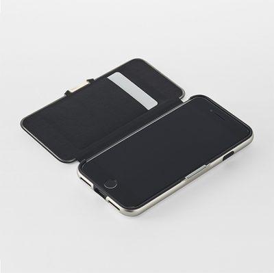 ZERO HALLIBURTON Hybrid Shockproof Flip Case for iPhoneSE(第2世代)2
