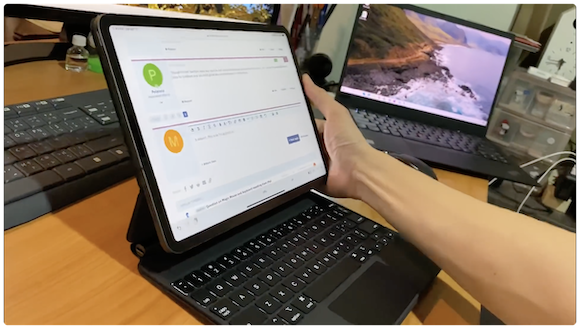 iPad Pro Magic Keyboard ハンズオン
