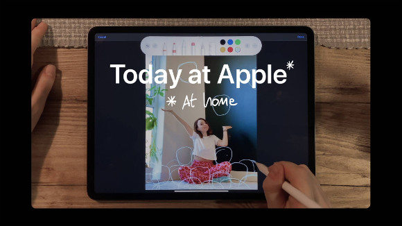 today at apple at home