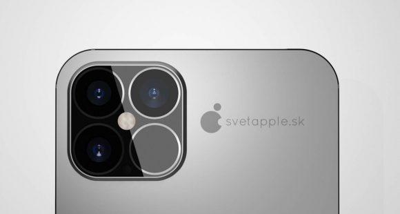 IPhone12 concept LiDAR