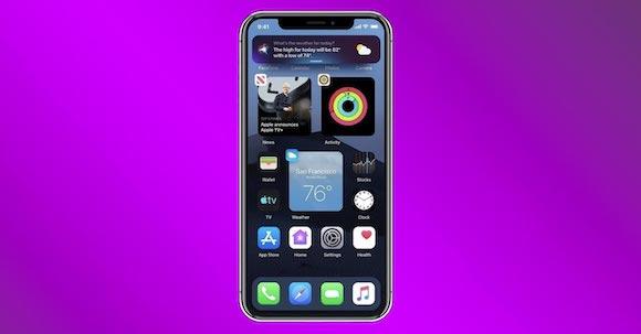 iOS14 widget image2