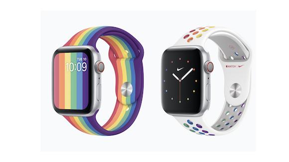 Apple Watch 2020 プライド バンド