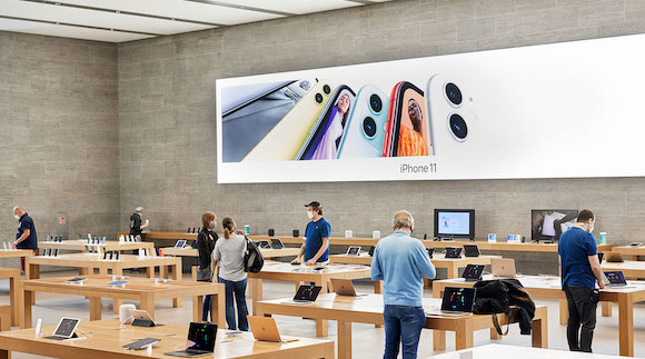 Apple Store 「To our customers,」