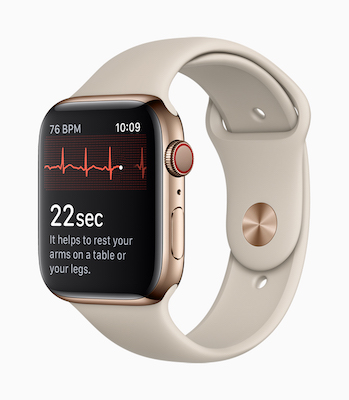 Apple Watch Series 4 ECG 心電図