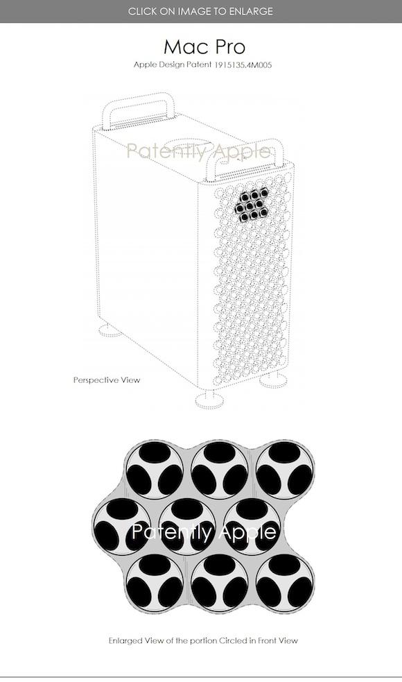 Mac Pro design patent 1