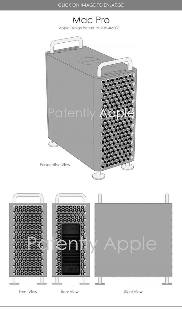 Mac Pro design patent 2