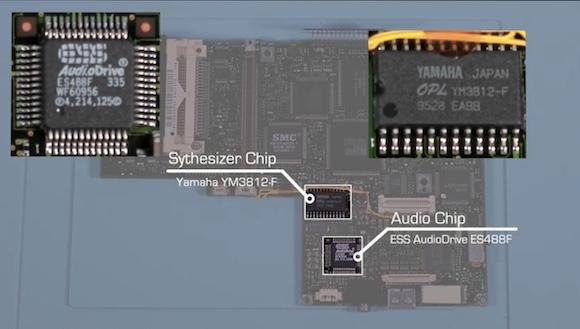 PC110 audio chip
