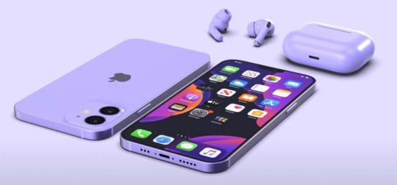 iPhone12 mini purple