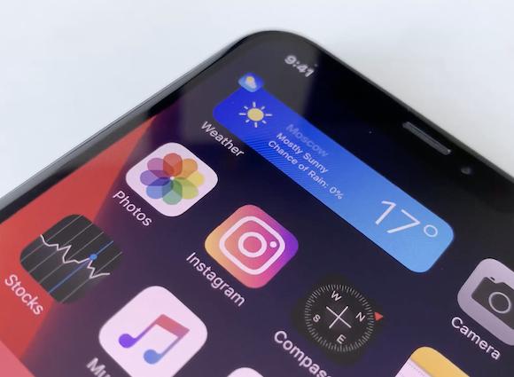 iOS14 widgets concept 01
