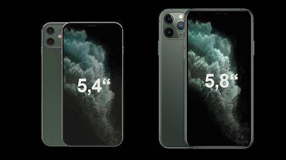 iPhone12 mini vs iPhone11 Pro