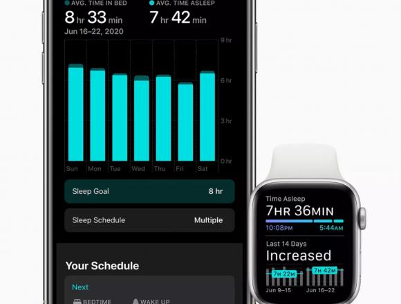 watchOS7 睡眠トラッキング機能