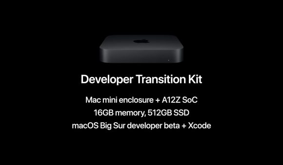 A12Z Apple silicon DTK