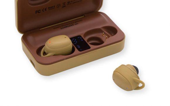cheero DANBOARD Wireless Earphones Bluetooth 5.1-デジタルインジケータ