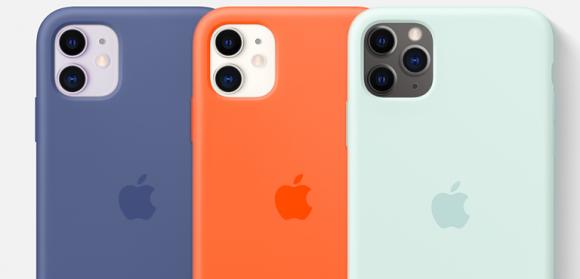 iPhone11シリーズシリコーンケース