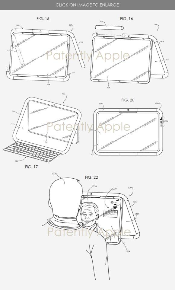iPad housing patent_VAIO QR1