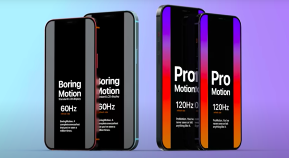 iPhone12 ProMotion