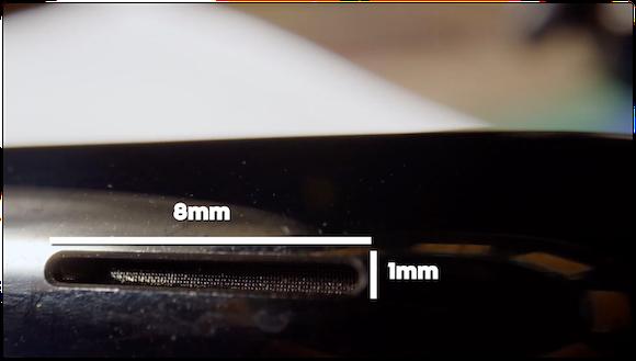 Apple Watch 排水 スローモーション