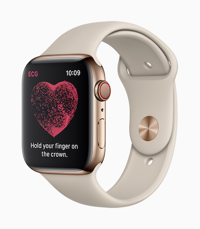 Apple Watch Series 4 心電図 ECG