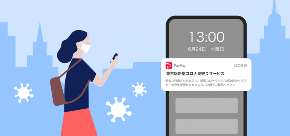 PayPay 東京版新型コロナ見守りサービス