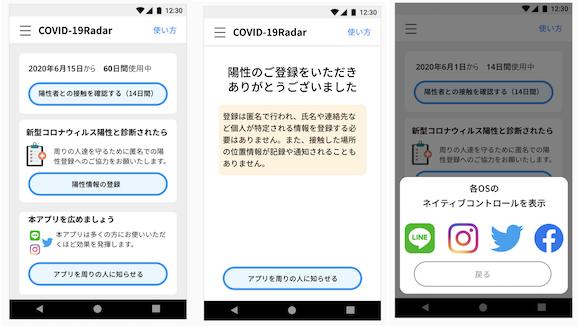 COVID-19 Radar Japan