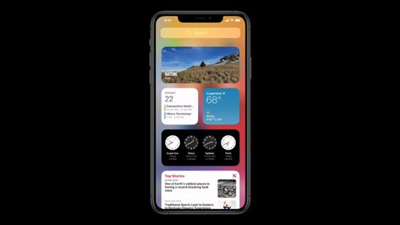 WWDC 2020 iOS14 Widget